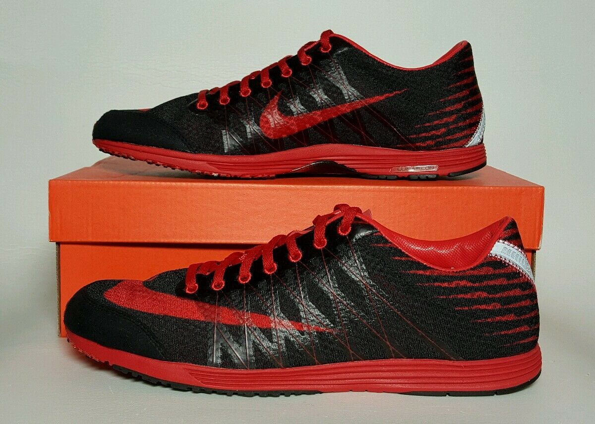 NIKE MEN'S LUNARSPIDER R 3 BLACK RED NEW BOX MULTIPLE SIZES 524963 060 MSRP  125