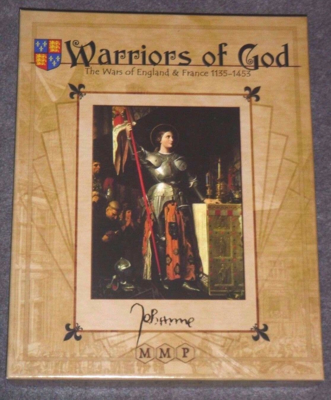 Warriors of God   Wars of England & France 1135-1453 - MMP