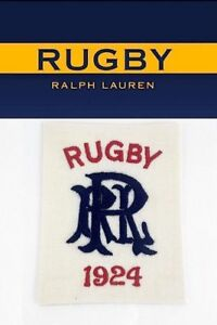 Rugby-Ralph-Lauren-RRL-Spell-Out-1924-Patch-RLFC-Polo-P-Wings-Stadium-92-Ski