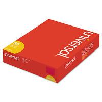 Universal Deluxe Reinforced Top Tab Folders 2 Fasteners 1/3 Tab Letter Red 50 on sale