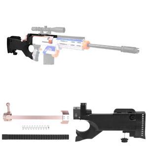 Worker Mod F10555 Awp Sniper Bolt Action Buttstock Kit For Nerf Retaliator Toy Ebay
