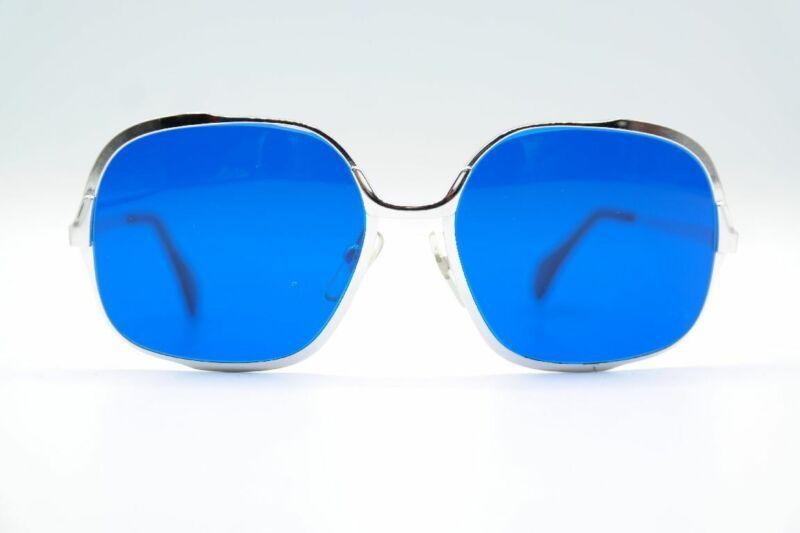 2019 Neuestes Design Vintage Optura Capucine 16 783 Silber Oval Sonnenbrille Sunglasses Brille Nos