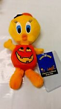 WARNER BROTHERS STUDIO STORE TWEETY PUMPKIN BEAN BAG NEW WITH TAG OFFICIAL