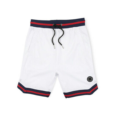 NEW Indie Kids by Industrie Roler Basketball Short BBS30500 White
