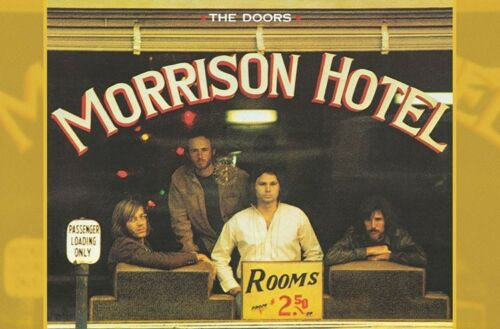 MORRISON HOTEL POSTER 22x34 MUSIC 16988 THE DOORS