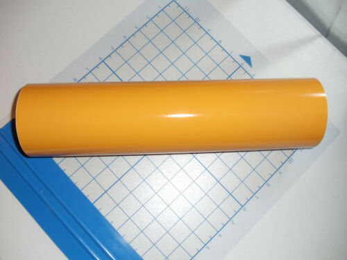 "window//wall//vehicle Yellow Vinyl 15/"" Roll Sign Decal Sheet Series 5 High Gloss"