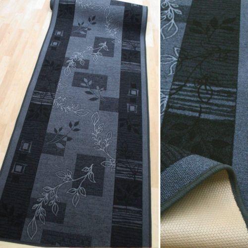 Feiner Feiner Feiner Teppich Läufer  AW JULIA 97 grau  67 cm breit NEU   Abrechnungspreis  d2e349