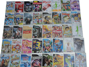 BUNDLE-of-RARE-COLLECTABLE-Nintendo-Wii-GAMES-Super-Mario