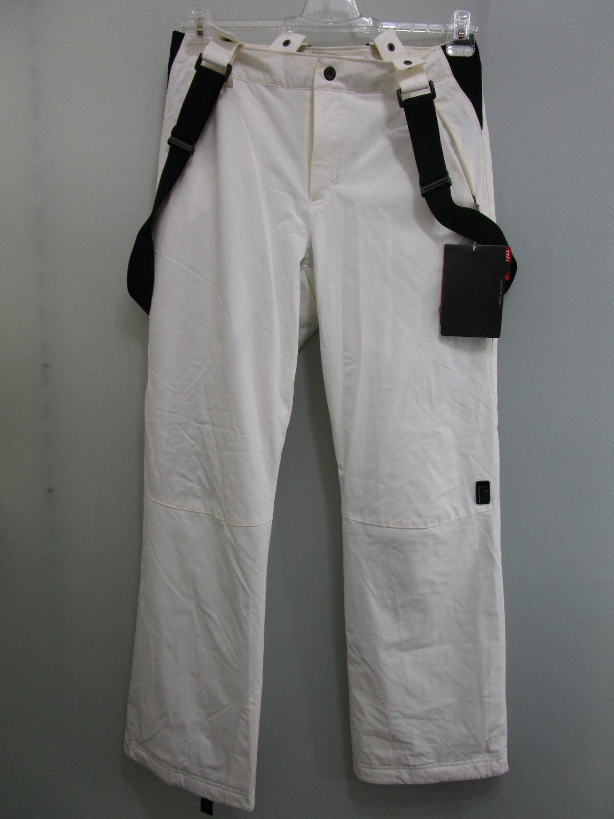 NEU Spyder  14976 Ruby TailGoldt Fit Pant Skihose Größe 42 in Ivory