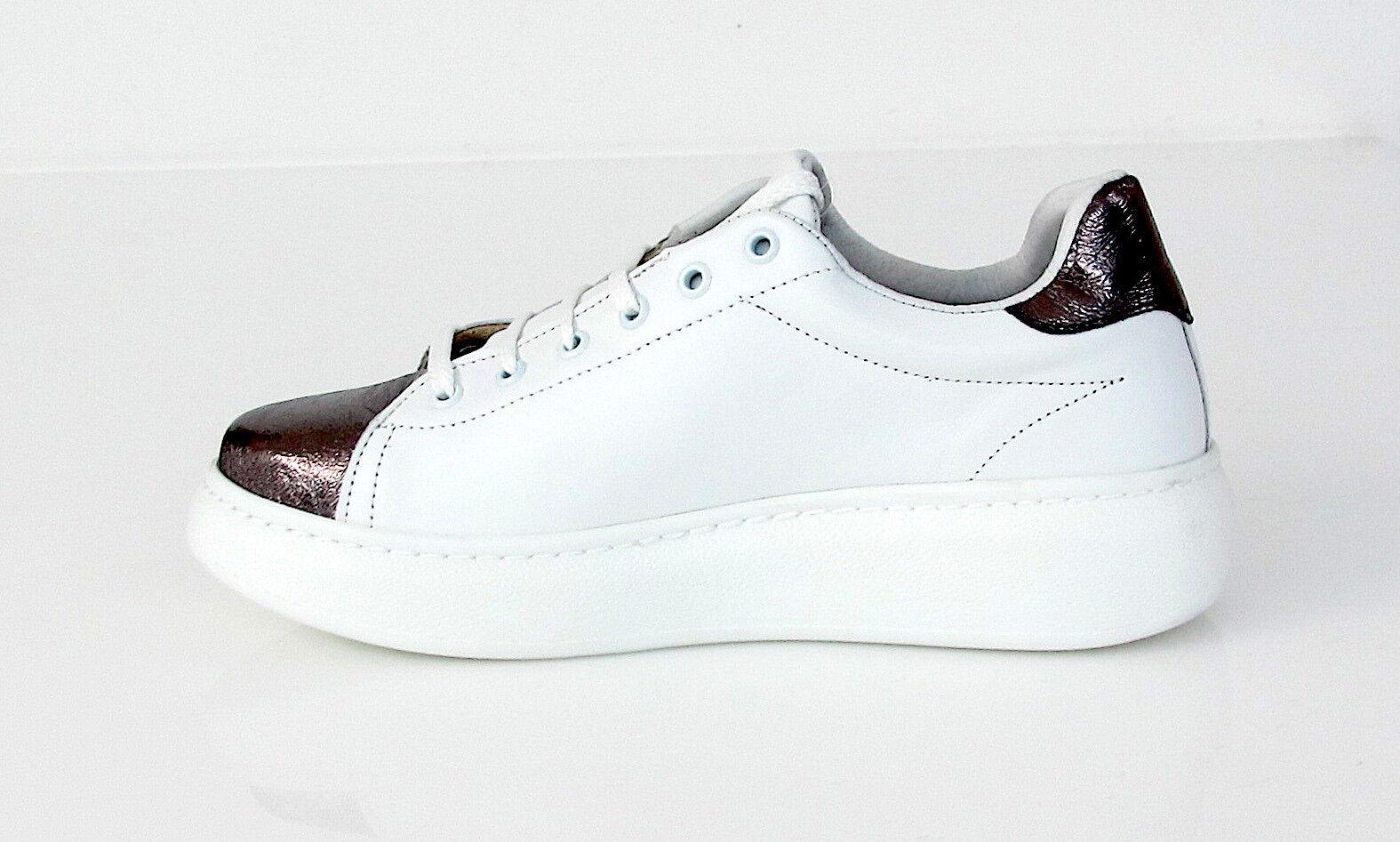 NU2 col.bianco/grau Schuhe/Sportschuhe Frau Alice-c 207 col.bianco/grau NU2 met. Sommer 2017 2b39f6