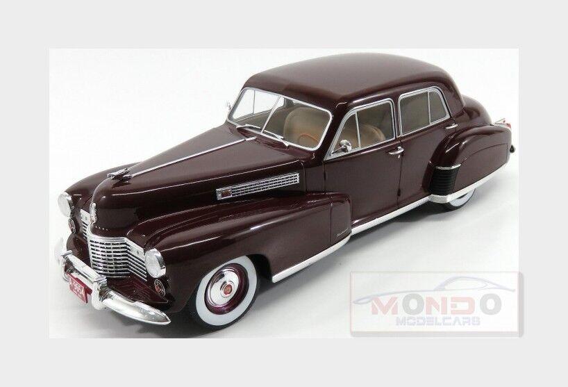 Cadillac Fleetwood Series 60 Sedan 1941 Bordeaux Met ModelCarGroup 1 18 MCG18071