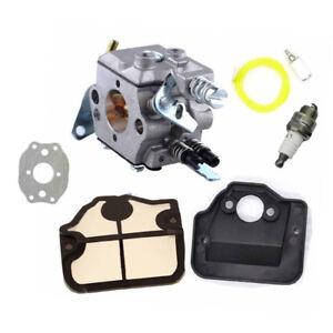 Carburetor & Fuel Line Kit for Husqvarna 36 137 141 142 ...