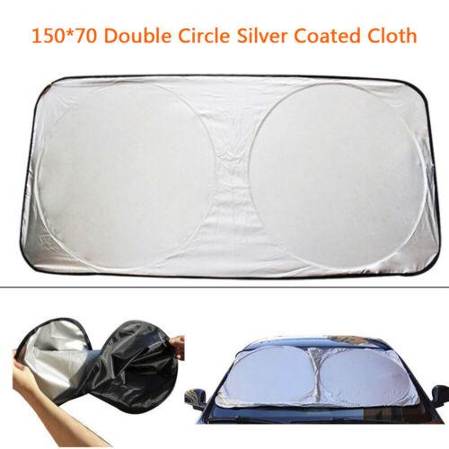 Useful Foldable Auto Car SUV Sun Shade Visor Block Front Windshield Shield Cover