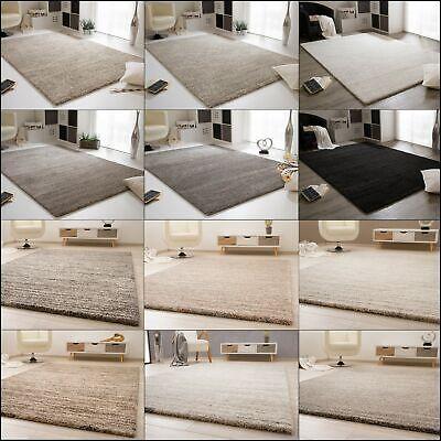 Tapis pour salon Confort contemporain en gris crème marron et noir | eBay