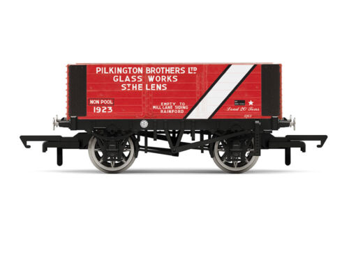 Hornby R6870 Güterwagen 6 Plank Wagon Pilkington Bros.