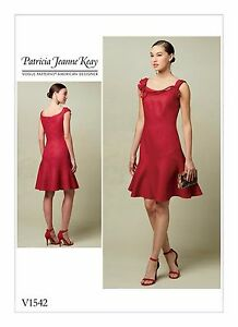 af38feaa6 Image is loading V1542-Vogue-Sewing-Pattern-1542-Patricia-Jeanne-Keay-