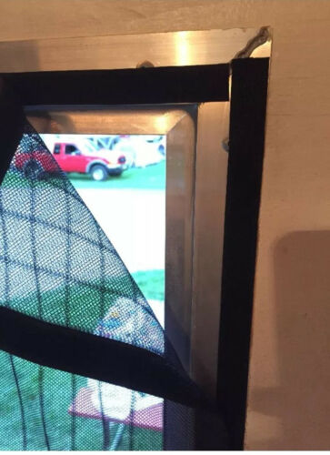 Enclosed Trailer SBS RV 95.0 x 83.0 Rear Screen Door for Toy Hauler Ramp