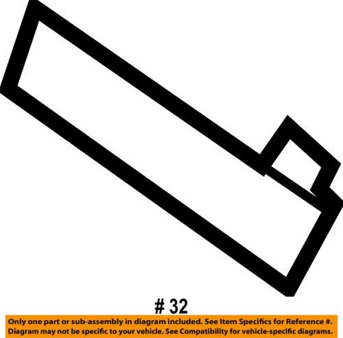 MERCEDES OEM 07-12 GL450 Interior-Rear-Opening Trim Left 16469311339051