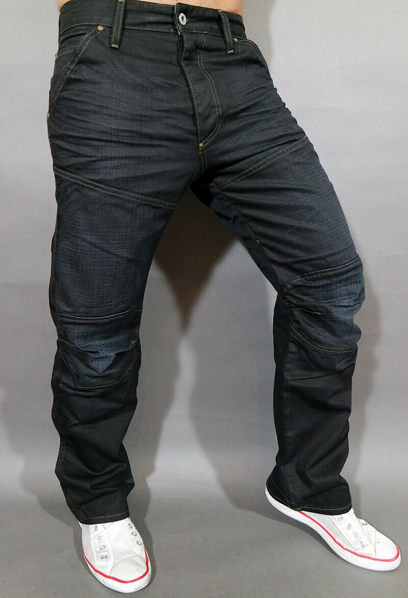 G Star Jeans 5620 Loose Elwood - 28 34 - Raw Worn in Cable Denim Cotton - New