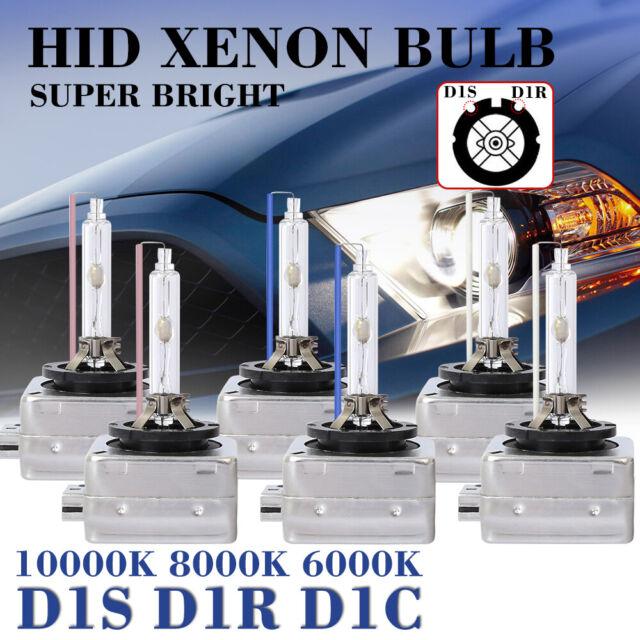 2x D1S D1C D1R 6000K OEM HID Replacement Xenon Headlight Light Bulbs Lamps Brigh