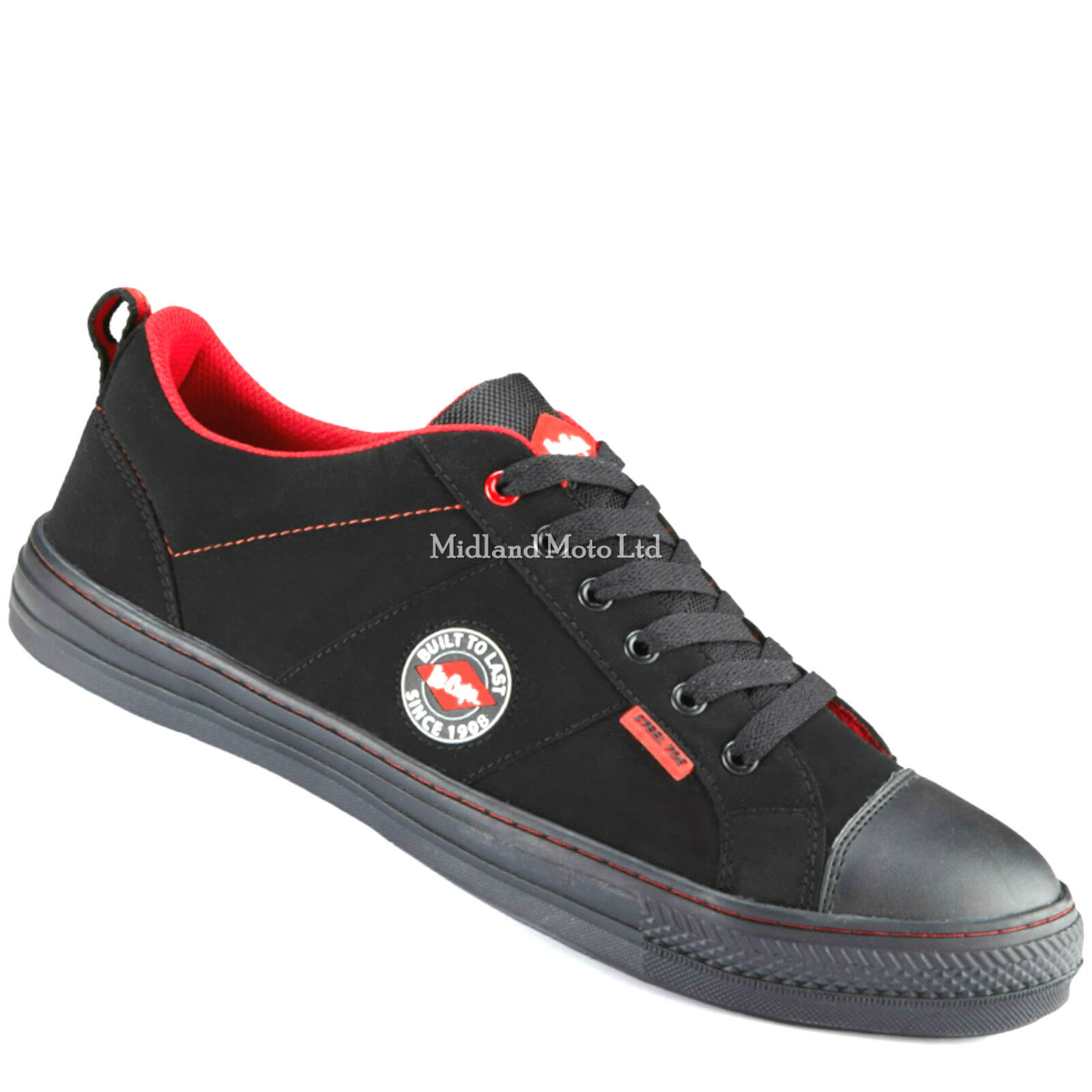 Lee Cooper Steel Toe Cap Plimsoll Style Safety schuhe. Trainers Schuhes Boot LC54