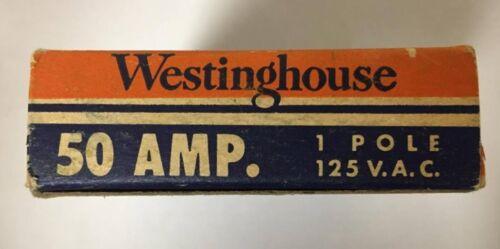WESTINGHOUSE QC1050 Single Pole 50 Amp Type QC Breaker