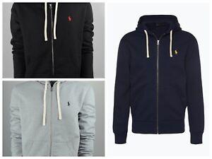 Ralph-Lauren-Polo-Herren-Hoodie-Kapuzenpullover-mit-Zipper-Sweatshirt-Neu-Ovp