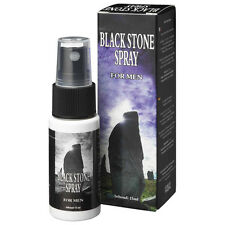lubrificante SPRAY 15 ML RITARDANTE BLACK STONE COBECO PHARMA + 10 preservativi