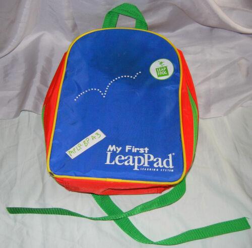 LeapFrog Leap Frog LeapPad Quantum Pad Back Pack Backpack #70011 Storage Case