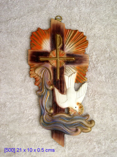 Crucifix Unique Religious statue NEW MUST SEE Great baptism house warming gift