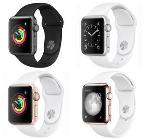 Apple-Watch-Series-1-38mm-Aluminum-Case-Space-Gray-Silver-Gold-Rose-Sport-Band
