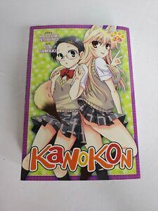 Kanokon English omnibus 7-9 Manga. Excellent condition