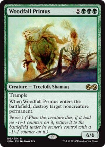 Foil x1 Woodfall Primus 1x Ultimate Masters Near Mint English -BFG- MTG M