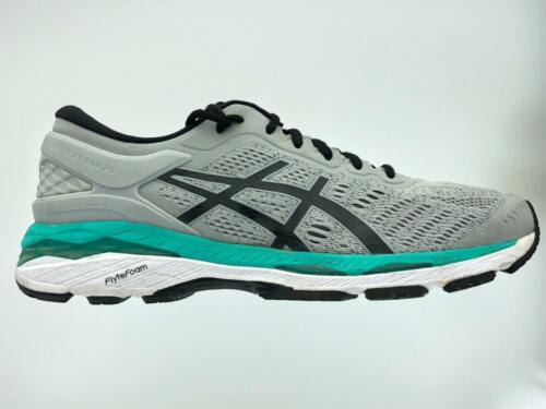 Women/'s Asics GEL-Kayano 24 Running Athletic Shoes  Mid Grey Black Atlantis