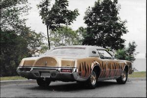 1973 Mark IV Lincoln / 1986 XJ12 Vanden Plas Jaguar