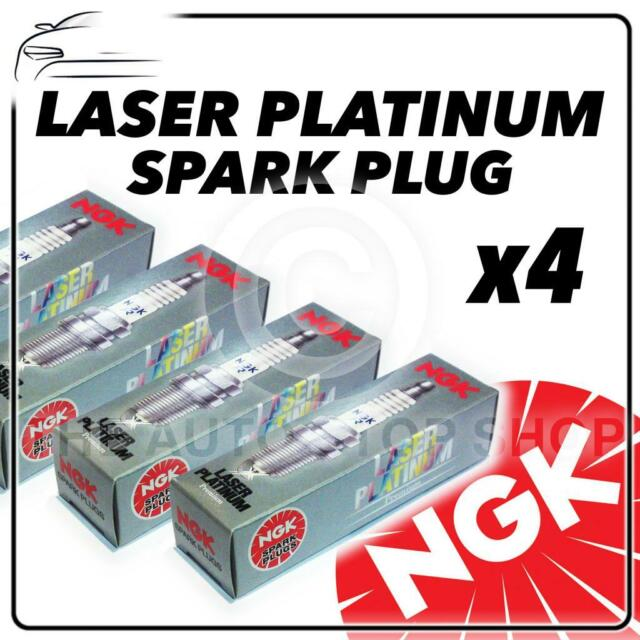 4x NGK SPARK PLUGS Part Number PGR7A Stock No. 3200 New Platinum SPARKPLUGS