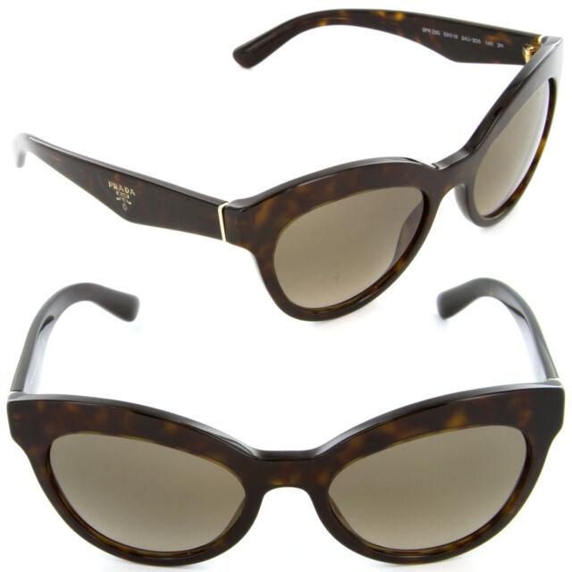 374e58147369 Prada Triangle Sunglasses SPR 23QS 2AU-3D0 Havana   Light Brown Gradient  Lens