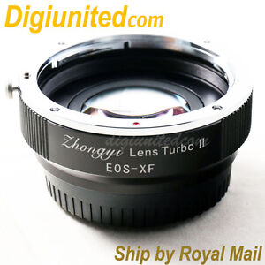 Zhongyi-Lens-Turbo-II-Reducer-Booster-Canon-EOS-EF-to-Fujifilm-FX-Adapter-X-Pro2