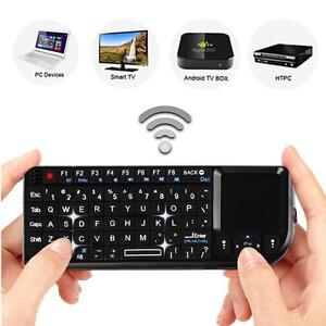 8bff78efcfa Top 2.4G Mini Wireless Keyboard Mouse Touchpad For PC Android Smart ...