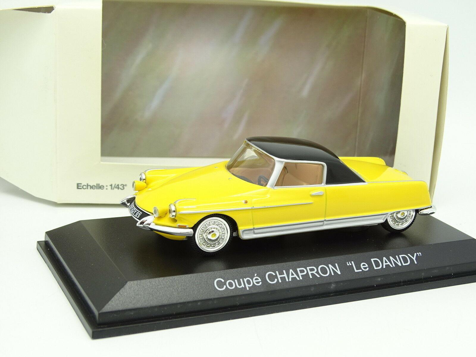 Norev 1 43 - Citroen DS Coupé Chapron Le Dandy Jaune