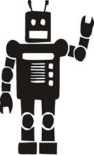 Robot for Kids room   Vinyl Wall decal