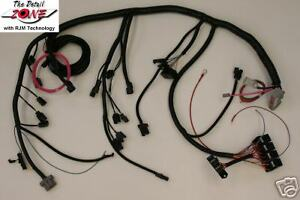 ford 5 0 efi mustang bronco wiring harness 1989 1993 ebay rh ebay com Ford F-150 Wiring Harness Diagram Ford Aftermarket Wiring Harness