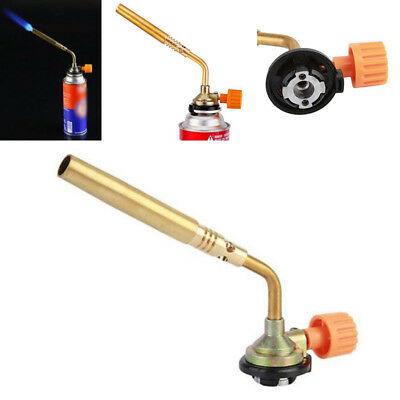 Mapp Gas Manual Ignition Turbo Torch Brazing Solder Propane Welding Plumbing