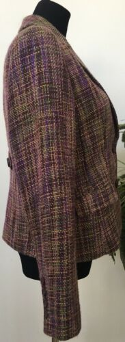 Nwt 10 Jacket Company Size Tweed York 69 Blazer Purple New 95 Multicolor Ret amp; RnwBCrxR