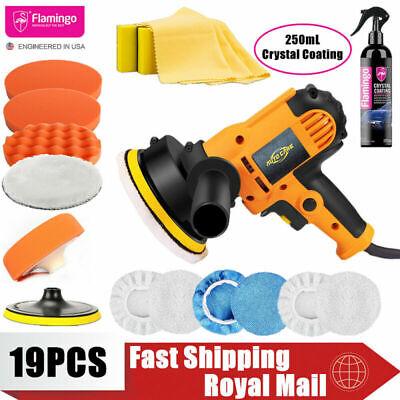 4Pcs 7 inch Buffing Polishing Sponge Pads Kit For Car Polisher Buffer