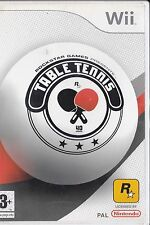 Table Tennis - Ping Pong - Jeu nintendo Wii jouable sur wii U - Notice  français