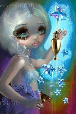 Jasmine Becket-Griffith art print tarot card fairy goddess SIGNED The Star