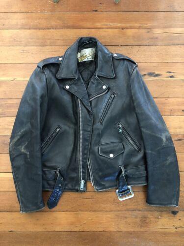 AMAZING Vintage Schott Perfecto Motorcycle Leather