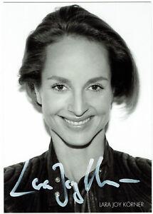 Lara-Joy-Koerner-original-signierte-Autogrammkarte-hand-signed
