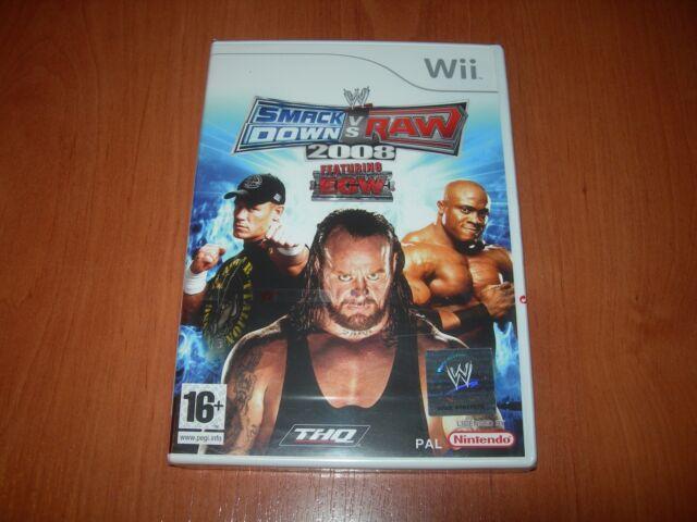 WWE SMACKDOWN VS. RAW 2008 Wii (PAL ESPAÑA PRECINTADO)